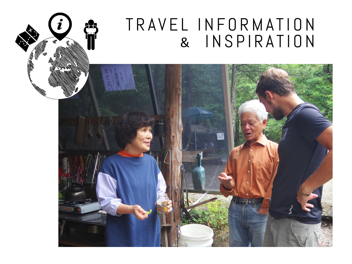 Travel Information & Inspiration Advice