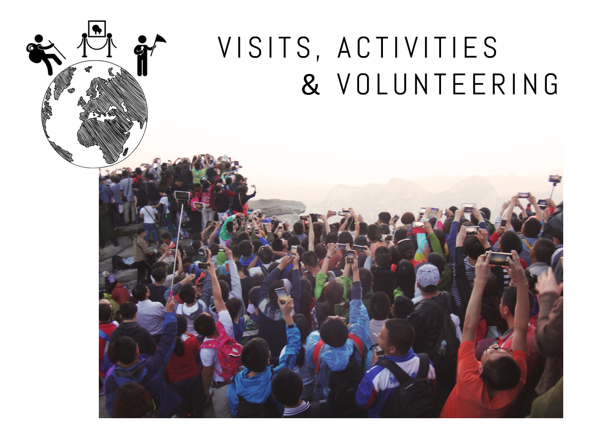 Travel Visits, Activities & Volunteering